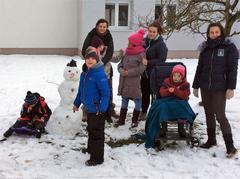 Užíváme sněhu