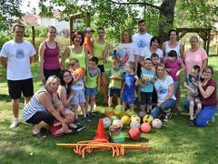 Sportovní den v mateřské škole