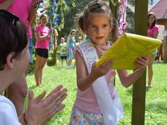 Zahradní slavnost v mateřské školce